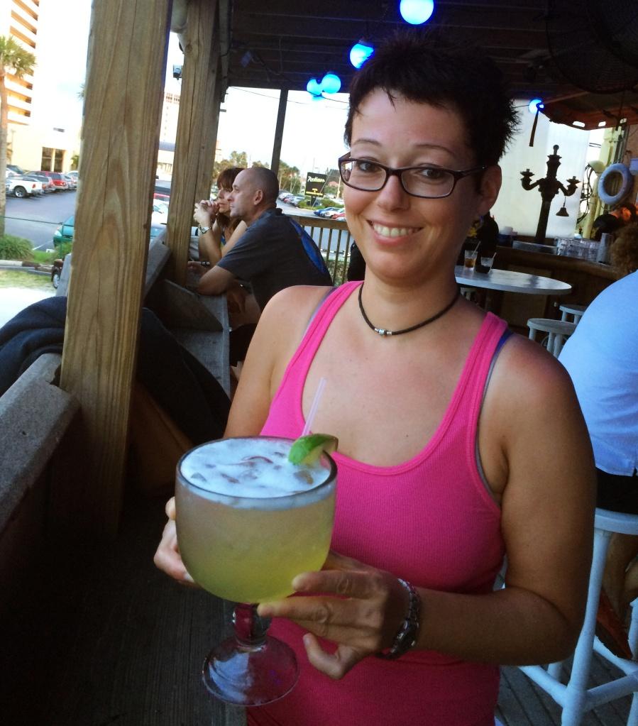 Margerita at Lou's Blues in Indiatlantic, Florida,