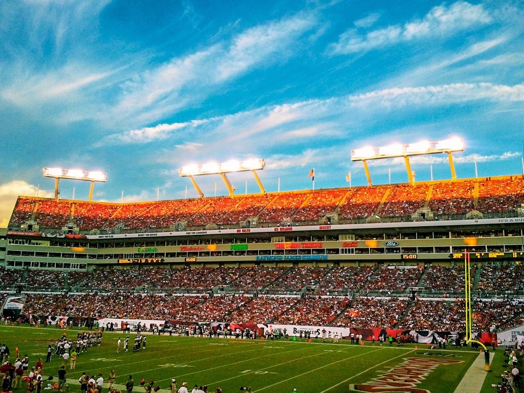 Raymond James Stadium in Tampa, Flroida.